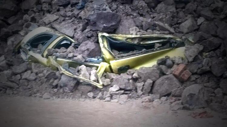 Gözlerine inanamadılar! Otomobil bu hale geldi...