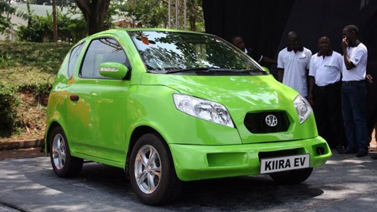 Uganda yerli hibrit aracını test etti