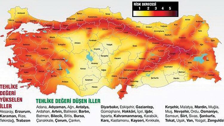 AFAD'ın yeni deprem haritasına tepki: 'Bu haritaya göre yapılan binalar çürük olur'