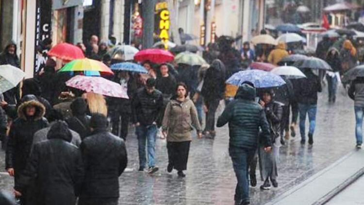 Dikkat! Meteorolojiden o bölgelere yağış uyarısı