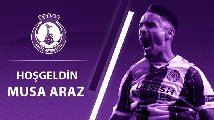 Konyasporlu Musa Araz, Afyonspor'a kiralandı!