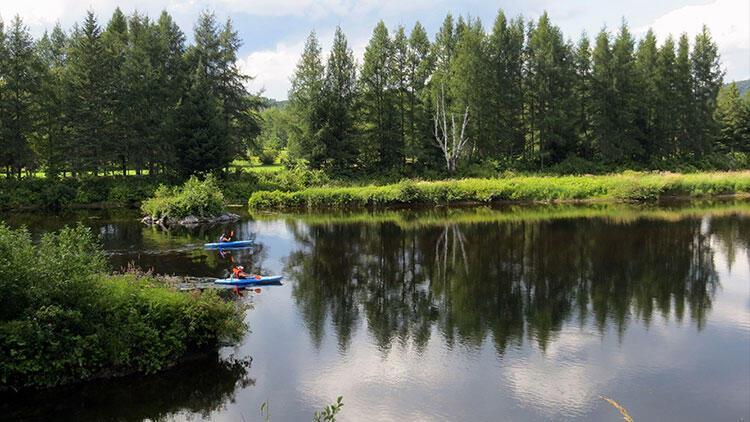 En iyi mektubu yazana göl kenarında müstakil ev