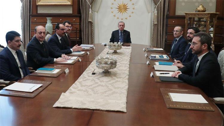 Cumhurbaşkanlığı Politika Kurullarının başkanvekilleri toplandı