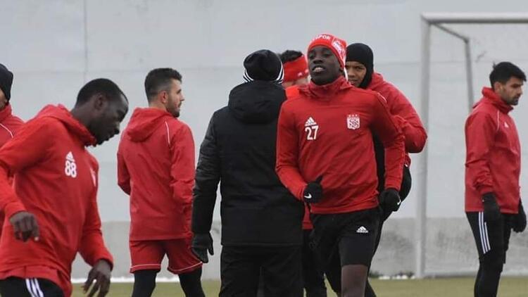 Sivasspor'da Trabzonspor mesaisi başladı