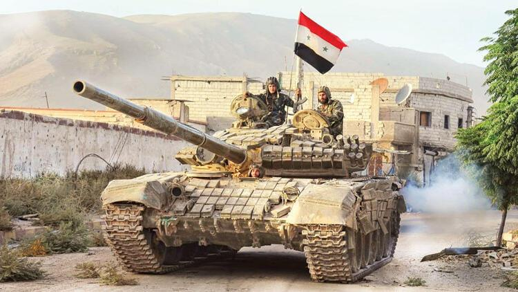 Şam'dan ağır silahlı oyun