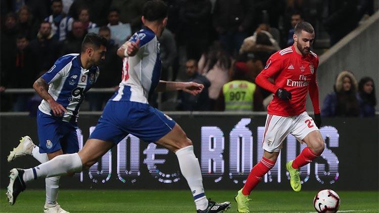 Benfica, Portoya yenildi Kupaya veda...