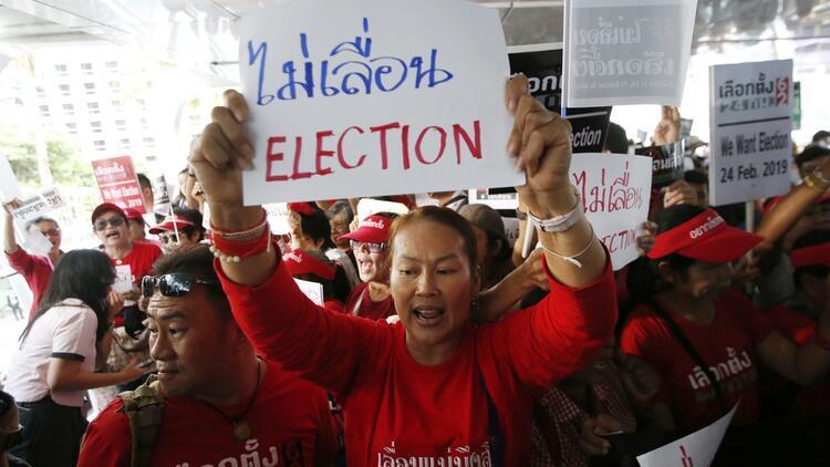 Tayland'da darbeden 5 yıl sonra bir ilk