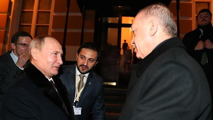Putin, Cumhurbaşkanı Erdoğan'ı böyle uğurladı