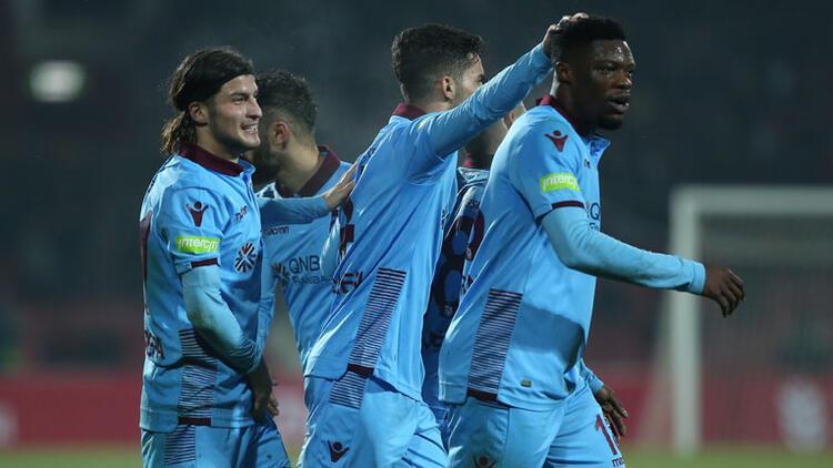 Trabzonspor çeyrek finale uzandı