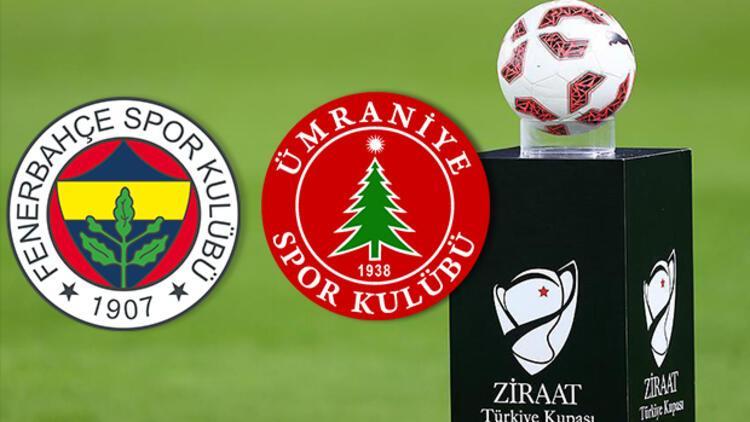 Fenerbahçe Ümraniyespor maçı hangi kanalda saat kaçta canlı olarak yayınlanacak? Türkiye Kupası son 16 turu