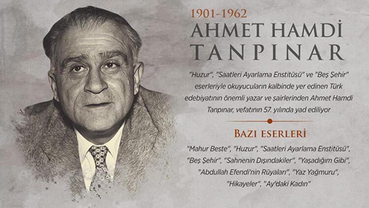 Ahmet Hamdi Tanpınar kimdir? Vefat yıl dönümünde anılıyor