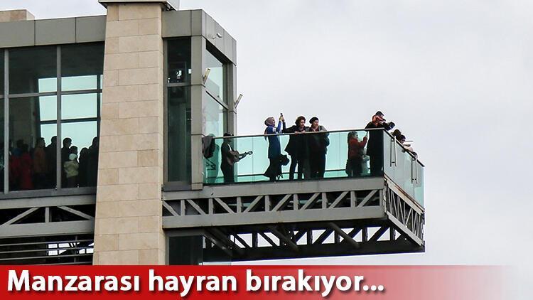 Antalya'da herkes bu asansörü merak ediyor