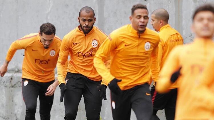 Galatasaray, Göztepe hazırlıklarını sürdürdü