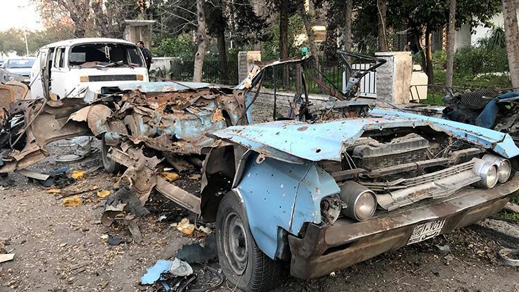 Son dakika... Şam'da Rus Büyükelçiliği yakınlarında patlama