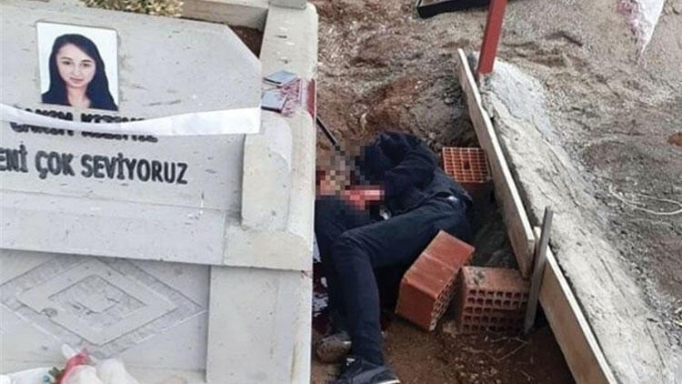 Korkunç olay! Trafik kazasında hayatını kaybeden arkadaşının mezarına gidip...