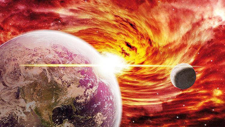 4.4 milyar yıl önceki çarpışma