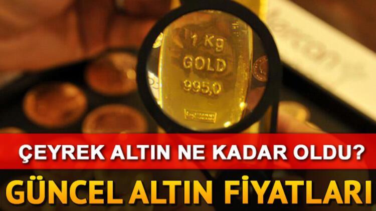 Altın fiyatları günü nasıl kapattı? Çeyrek altın ne kadar?