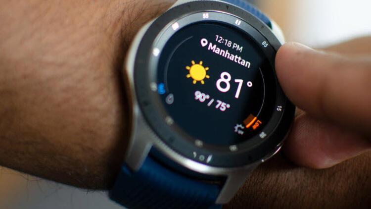 Samsung Galaxy Watch için yeni güncelleme yayında!