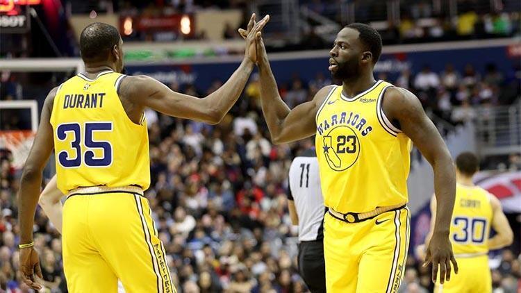 Warriors galibiyet serisini 9 maça çıkardı!