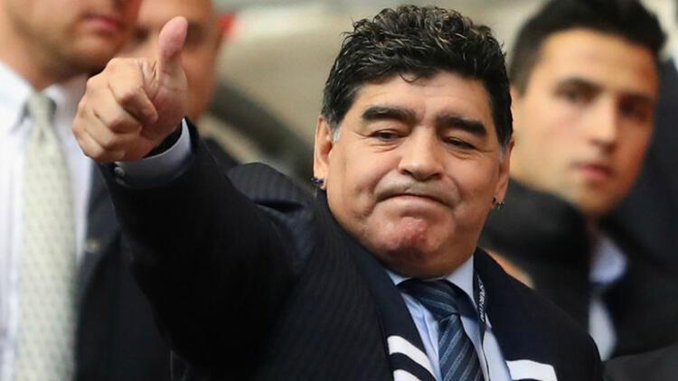 Maradona'dan Nicolas Maduro'ya destek
