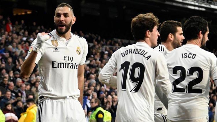 Real Madrid, Kral Kupası'nda yarı final kapısını araladı!
