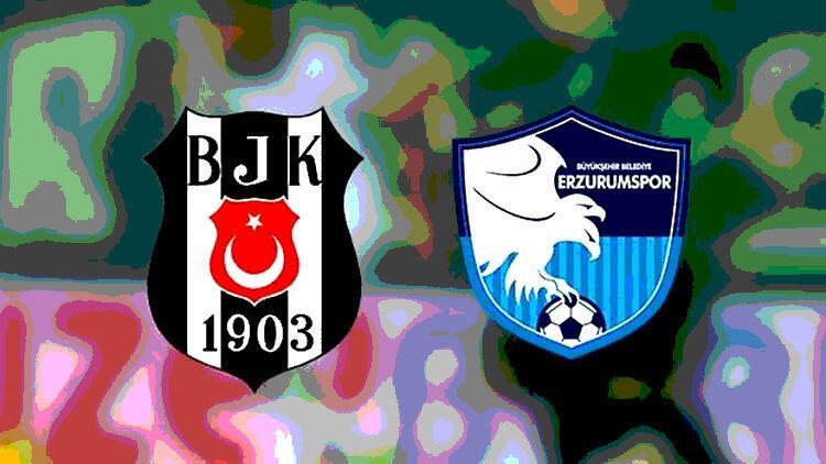 Beşiktaş, Erzurumspor'u konuk ediyor! Siyah-beyazlılarda 5 eksik...