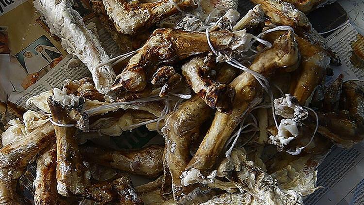 Toroslar'da kış sofralarının baş tacı 'kurutulmuş et'