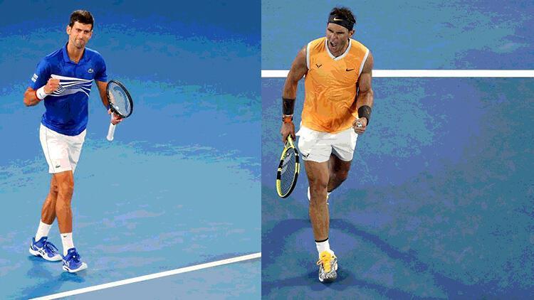 Avustralya Açık'ta tek erkeklerde finalin adı: Djokovic-Nadal!