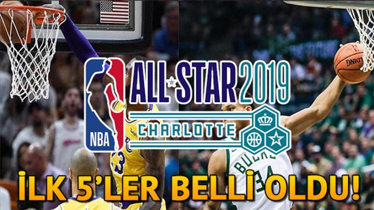 NBA All Star 2019 ilk 5'leri açıklandı! All Star ne zaman?