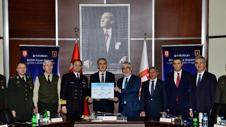 Bora Füze Sistemi Lojistik Destek Projesi imzalandı
