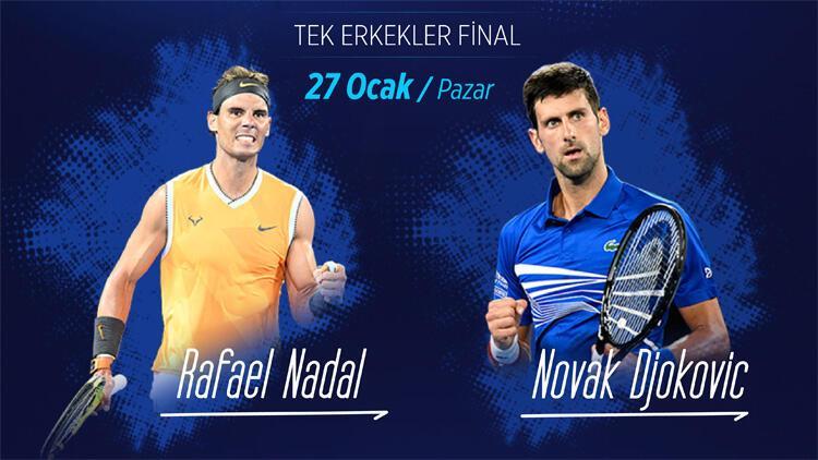 Avustralya Açık'ta final heyecanı; Djokovic-Nadal