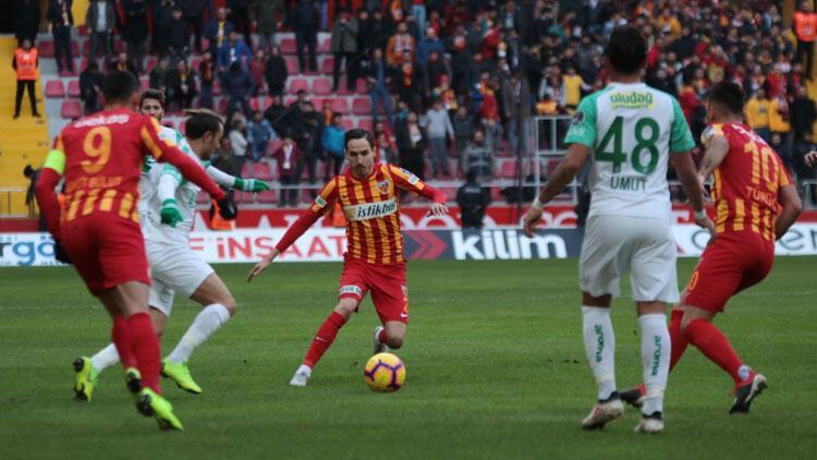 Kayserispor ve Bursaspor yenişemedi!
