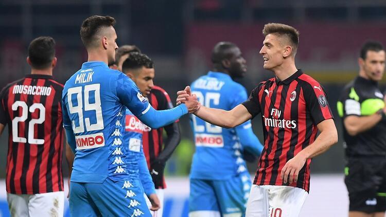 Milan ve Napoli, Juve'ye yol açtı