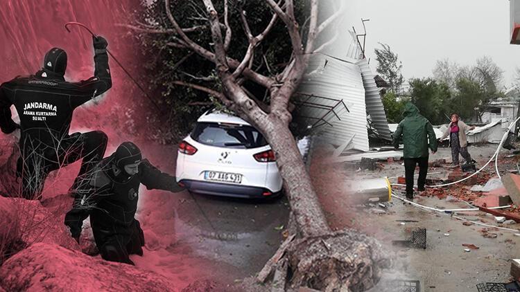 Antalya felaketi yaşadı! Zarar çok büyük