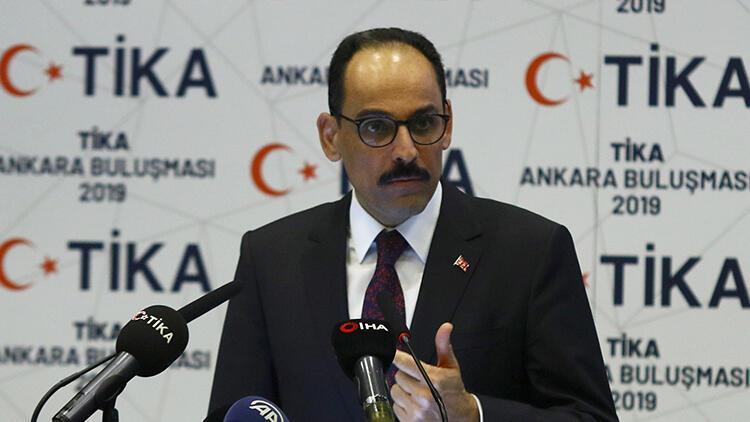 """""""Türkiye'nin dünyanın hiçbir bölgesinde gizli gündemi yoktur"""""""