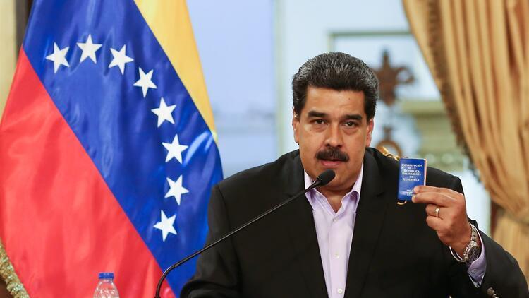 Maduro'dan ABD'nin yaptırım kararı sonrası ilk açıklama