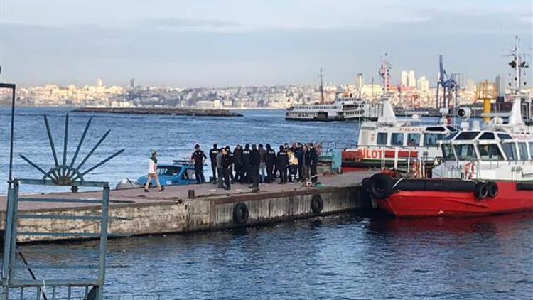 Kadıköy'de denizde ceset bulundu