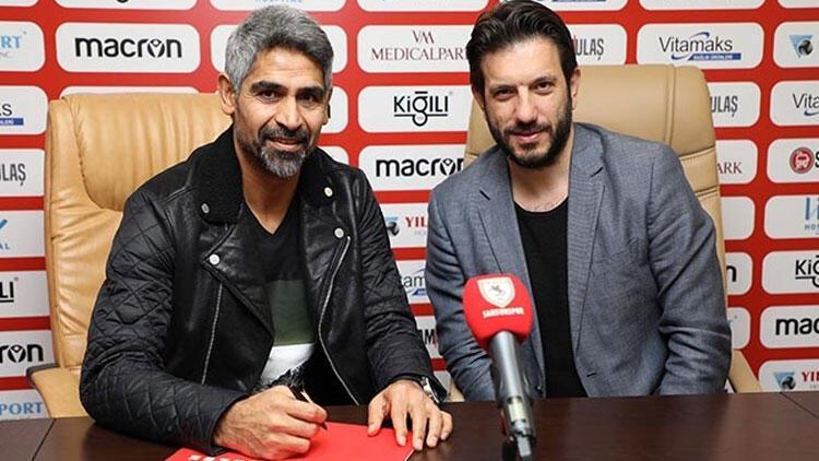 Samsunspor'un yeni teknik direktörü İsmet Taşdemir oldu