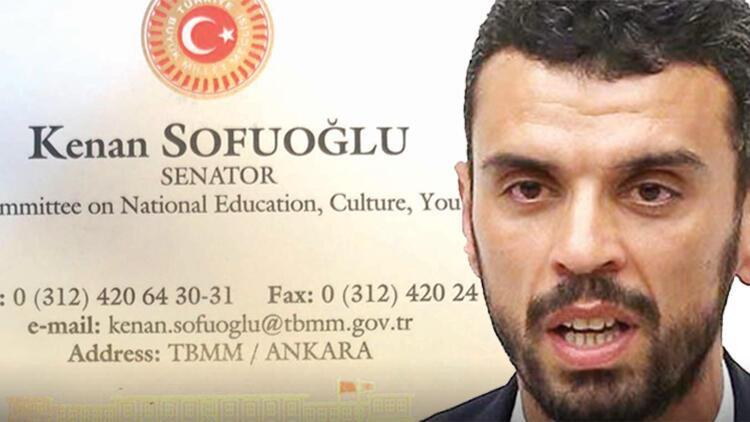 Kenan Sofuoğlu'nun kartvizitine inceleme