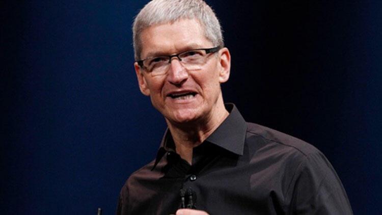 Apple CEO'su Cook konuştu, hisseler yükseldi