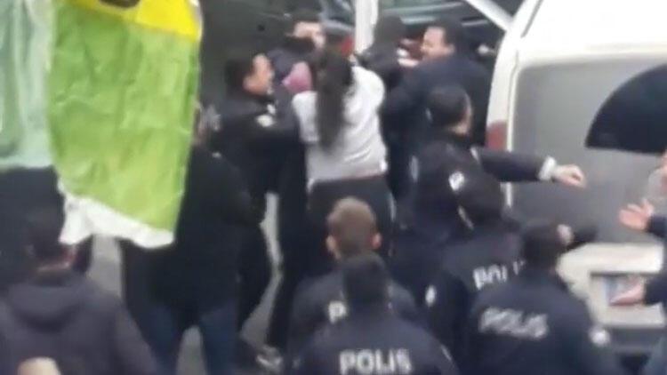 Maltepe'de ortalık karıştı, polis biber gazıyla müdahale etti