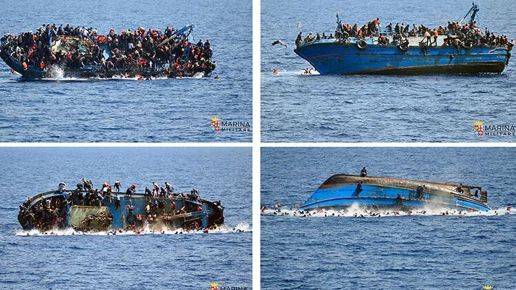 Akdeniz günde 6 düzensiz göçmene mezar oldu