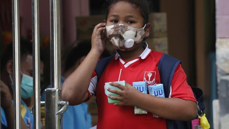 Tayland'da hava kirliliği nedeniyle okullar kapandı
