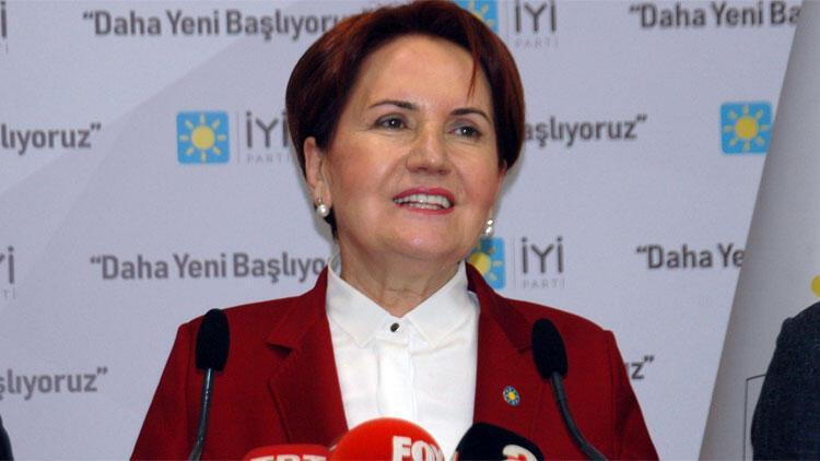 Meral Akşener'den 'Cumhur İttifakı'na çağrı
