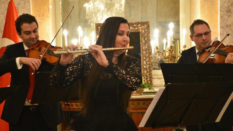 Viyana'da Şefika Kutluer konseri