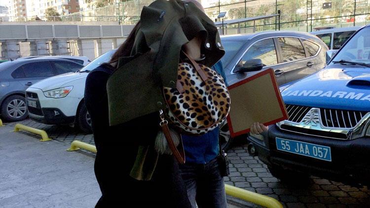 Kuyumcudan altın çaldığı iddia edilen kadın yakalandı