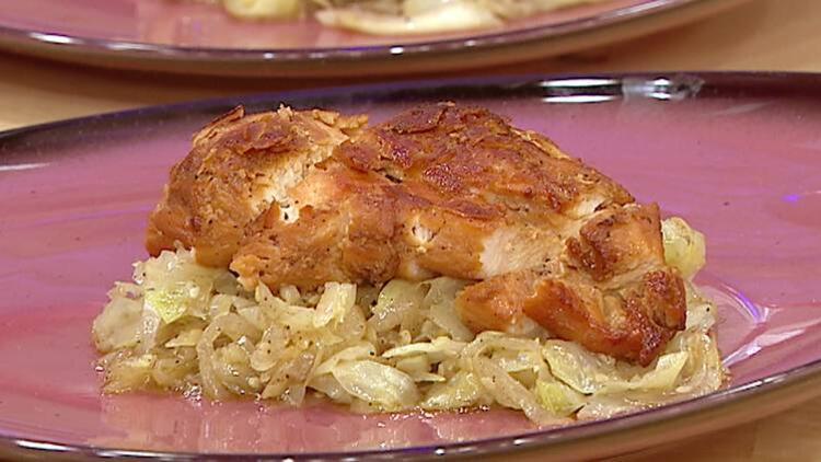Pekmezli lahanalı tavuk bonfile nasıl yapılır? Pekmezli lahanalı tavuk tarifi