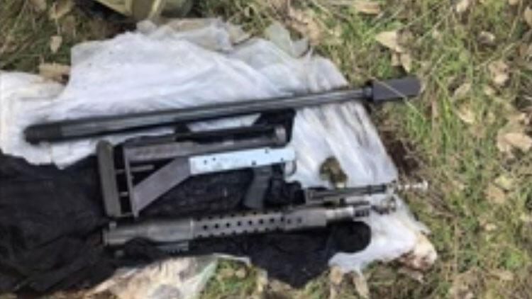PKK sığınağında 55 kilogram patlayıcı, zırh delici silah ele geçirildi