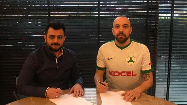 Giresunspor, Sercan Yıldırım'ı transfer etti