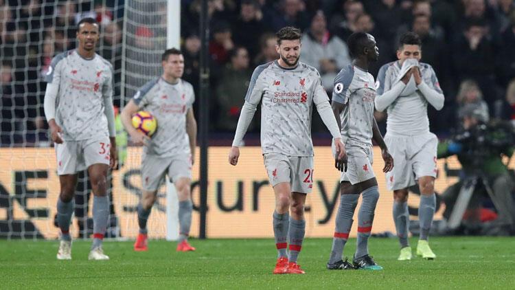 Liverpool'a West Ham darbesi! Fark 3'e indi